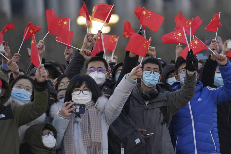中國今日發布2021年首個「寒潮預警」,北京明(6)日最低溫若低於零下16度,就會創下「21世紀最低氣溫紀錄」。(美聯社)