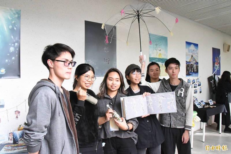 台東大學師範學院執行USR大學社會責任實踐計畫, 今天舉辦成果展。(記者黃明堂攝)