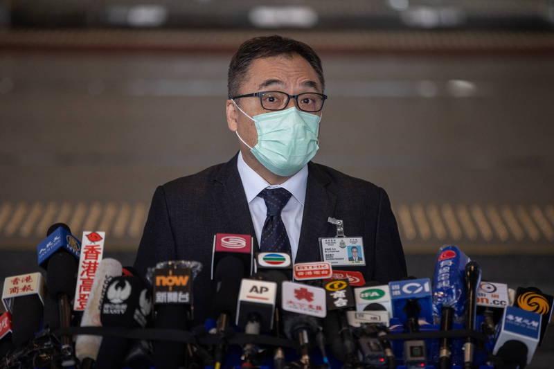 李桂華指稱,民主派人士從去年3月開始,便打算利用初選來讓香港癱瘓。(歐新社)