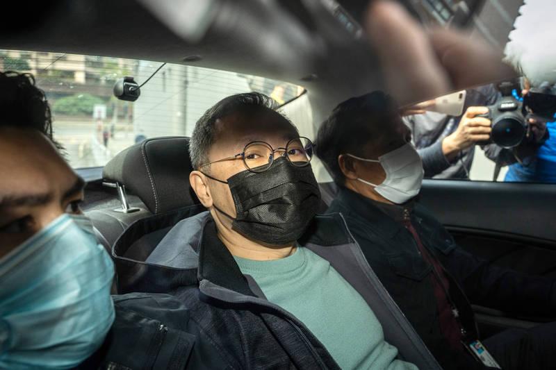 發起初選的戴耀廷被捕。(彭博)