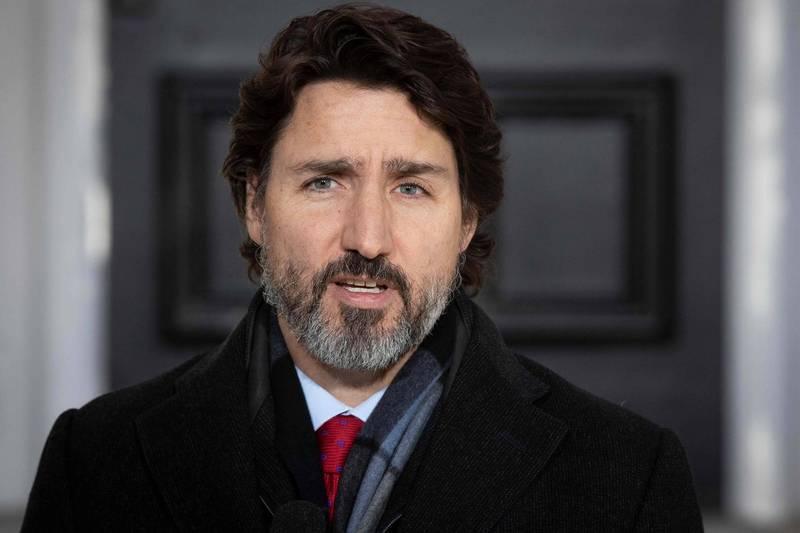 加拿大總理下令修改防疫補助規範,非必要原因出國者,歸國後將無法申請防疫補助。(法新社)