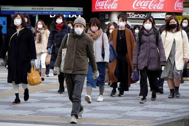 日本6日確診病例暴漲,出現單日新增6001例的紀錄,重症病例累計則達784例,雙雙再度刷新疫情以來新高。圖為東京街景。(法新社)