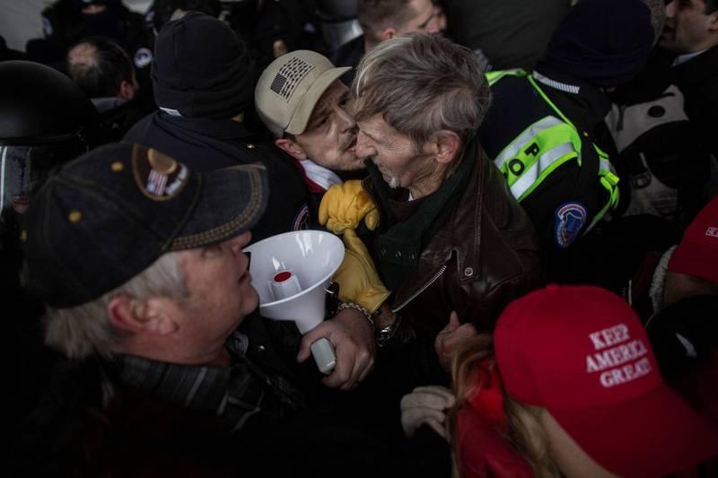 美國國會6日發生川粉暴動,目前已知5人死亡。(路透)