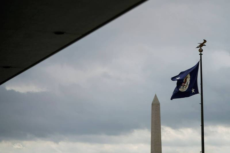 傳美國國務院伊朗事務特別顧問諾龍哈7日已被白宮開除,因為他在川粉闖入國會暴動後,在推特發文抨擊美國總統川普,圖為美國務院旗幟。(路透)