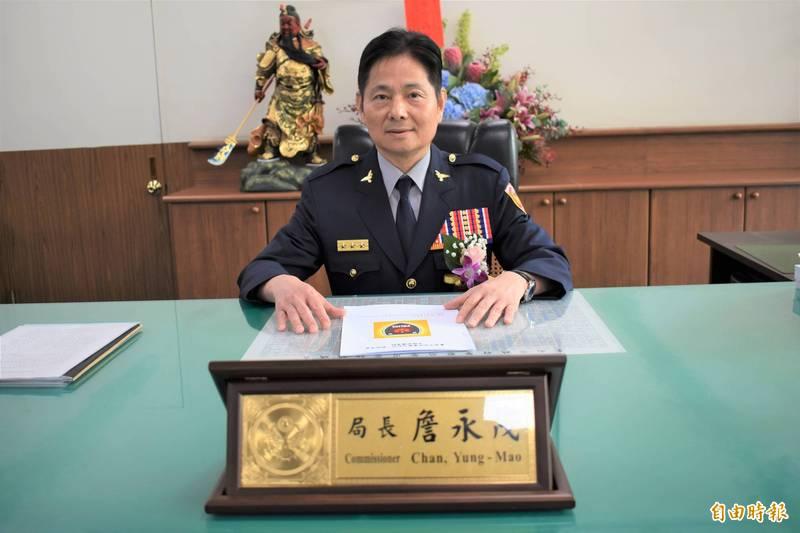 台南市警察局長詹永茂(見圖)傳出異動,將由方仰寧接任。(記者楊金城攝)