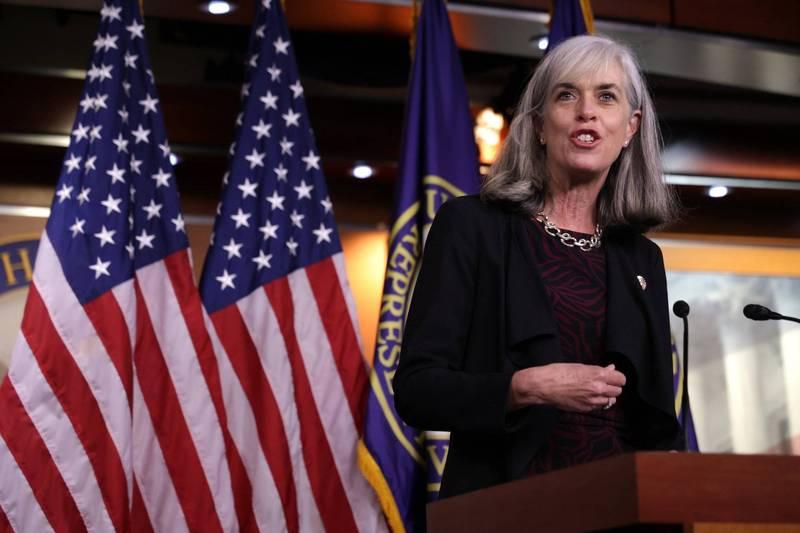 美國眾議院助理議長克拉克表示,民主黨籍眾議員下週就會推動彈劾川普的程序。(法新社)