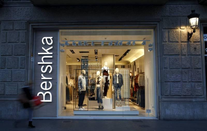 世界上最大的時裝集團「印地紡」正在關閉旗下包括Bershka在內3個品牌在中國的實體店,預計在年中以前完成。(路透)