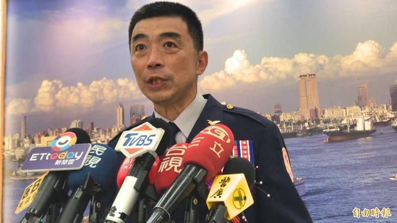 上任半年的高雄巿警察局長劉柏良傳出職務將異動。(資料照)