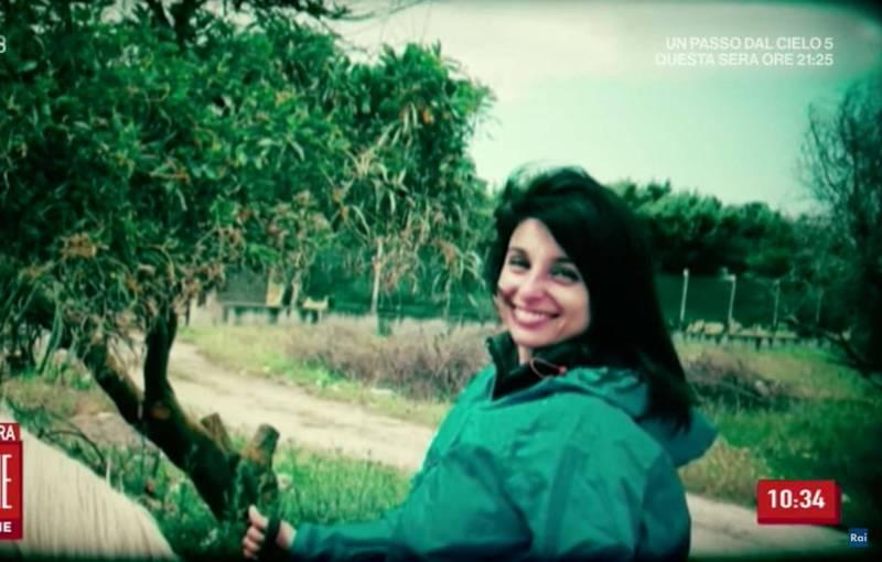 義大利女子欽達莫2016年無故失蹤,近日前黑手黨員透露她早已被謀殺,遺體遭餵豬。(圖擷取自Youtube頻道Rai)
