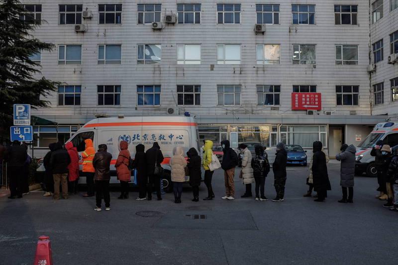 北京連日篩檢出武漢肺炎確診病例與無症狀感染病例。(歐新社檔案照)