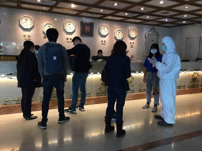 台中市目前已成立28家居家檢疫替代所。(觀旅局提供)