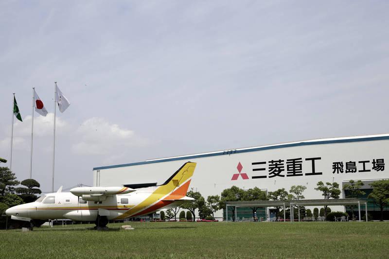 三菱重工聯合多家日本企業組建戰機開發技術團隊。(彭博)