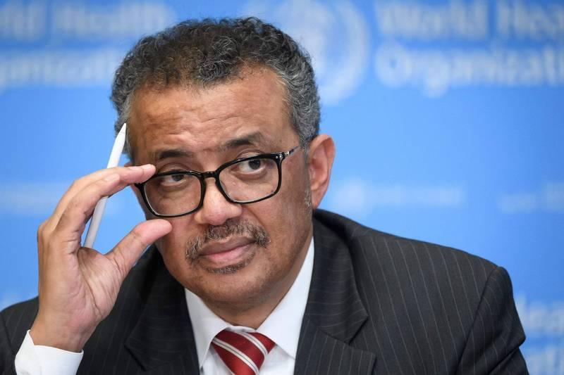 WHO秘書長譚德塞11日宣布,國際專家小組將會從武漢展開研究,以確定早期病例的感染途徑。(法新社)