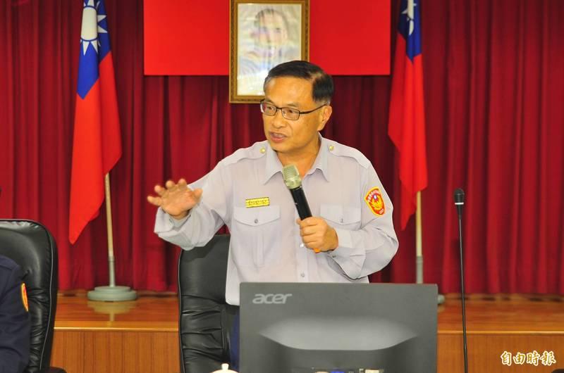 被基層喻為「最接地氣警察局長」的警政署副署長黃宗仁,可望接任新北市警察局長。(資料照)