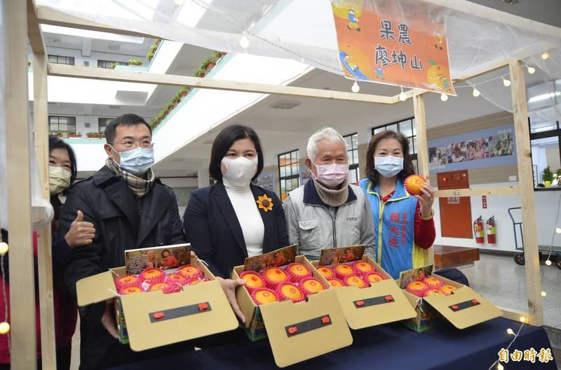 斗六市公所將23、24日舉辦茂谷柑節。(記者林國賢攝)