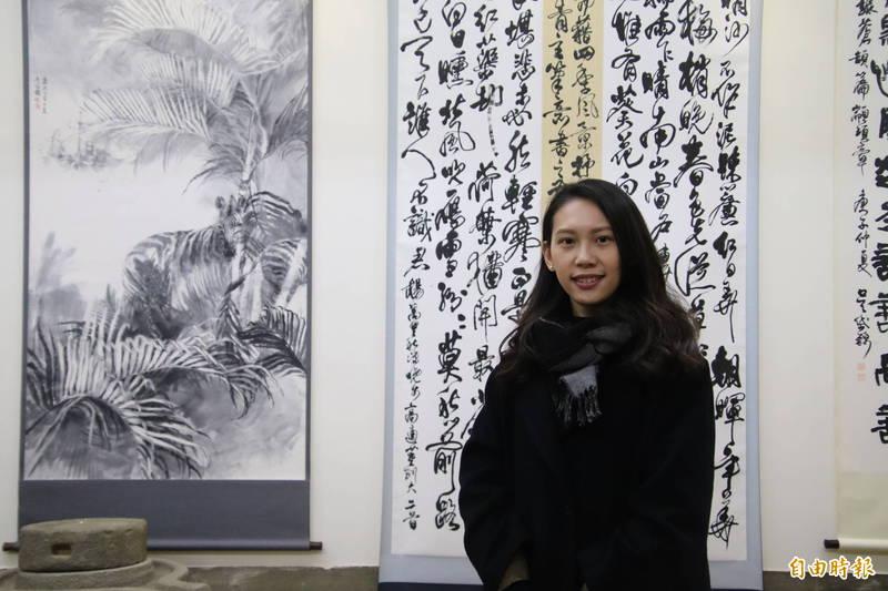 「關西Hebe」開展義賣畫作 所得捐金廣成文化推廣協會