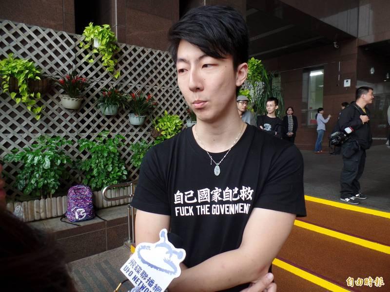 政治工作者、林昶佐立法院特助吳崢,在臉書上模擬台灣若照國民黨的防疫策略可能出現的後果。(資料照)