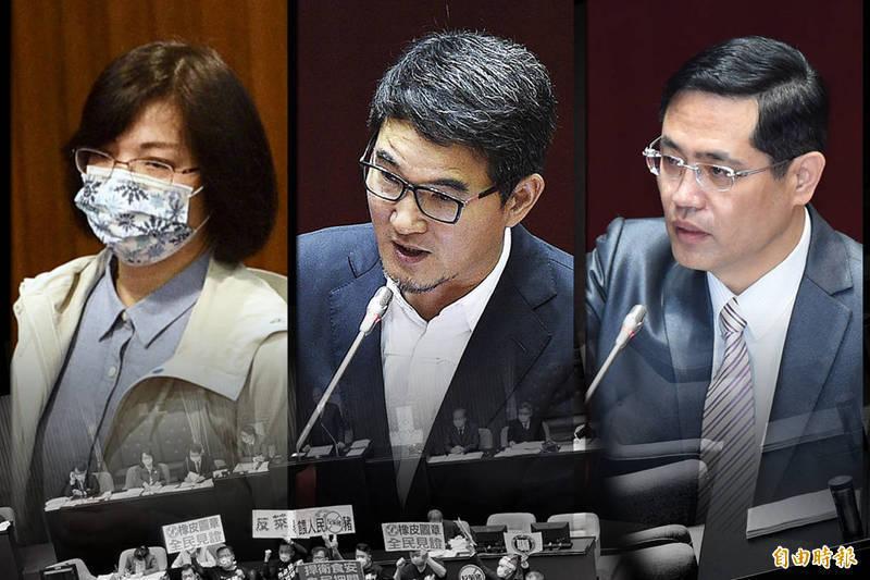 民進黨立院黨團移送美豬跑票3綠委 林錫耀稱將送中評會處理