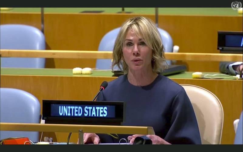 美國駐聯合國常任代表克拉夫特(Kelly Craft)大使。(資料照,美聯社)