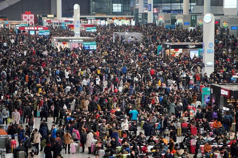 「春運」如防疫大考!中國官方坦承:武肺疫情複雜嚴峻