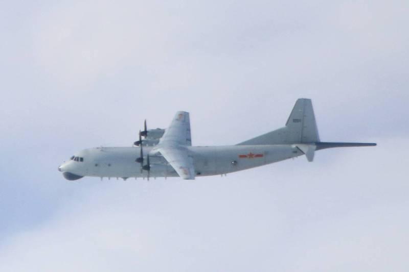 解放軍軍機近期密集襲擾我國鄰近空域。示意圖。(國防部提供)