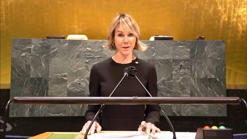 克拉夫特(見圖)在影片中對台灣學生說,美國在聯合國盡力確保台灣在國際舞台上的角色。(圖取自美國駐聯合國使團官網)