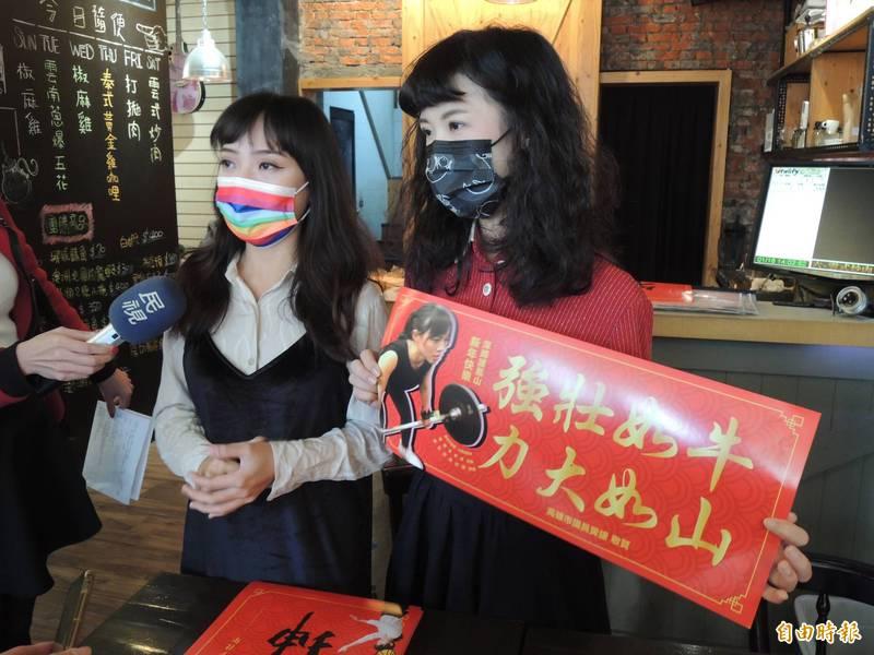 王浩宇被罷免,黃捷(圖左)強調會一如往常做好議員工作。(記者王榮祥攝)
