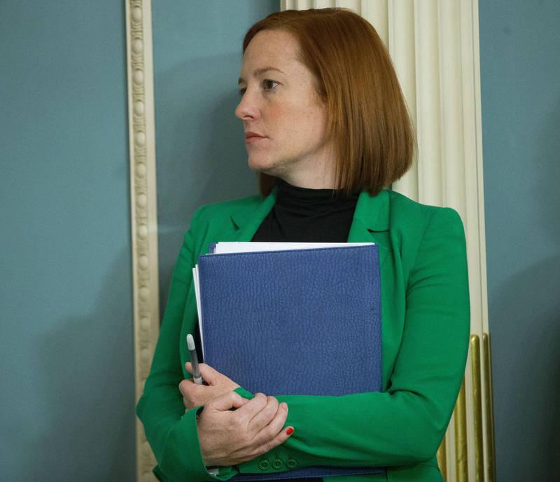 白宮新聞秘書莎琪(見圖)昨日表示將恢復歐巴馬時期白宮對外界公開訪客紀錄的做法。(美聯社)