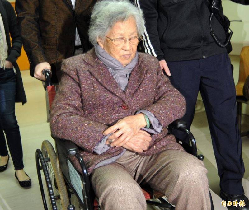「扁媽」陳李慎昨天(15日)下午辭世,享耆壽94歲。(資料照)