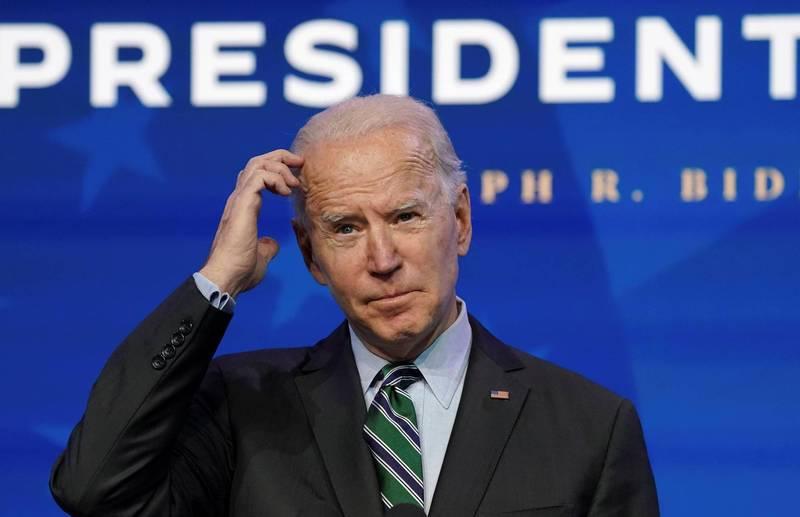 美國白宮準幕僚長克蘭透露,拜登上任首日預計頒布12項行政命令,翻轉川普政策。(路透)