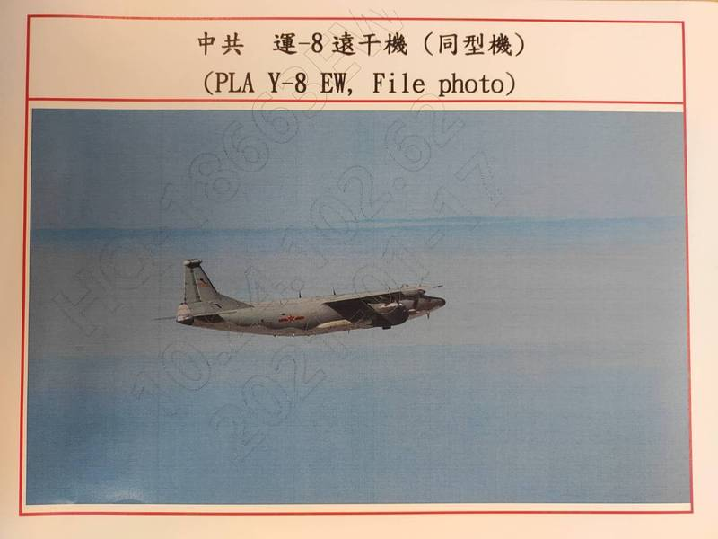 連七天! 中國遠干機擾我西南空域