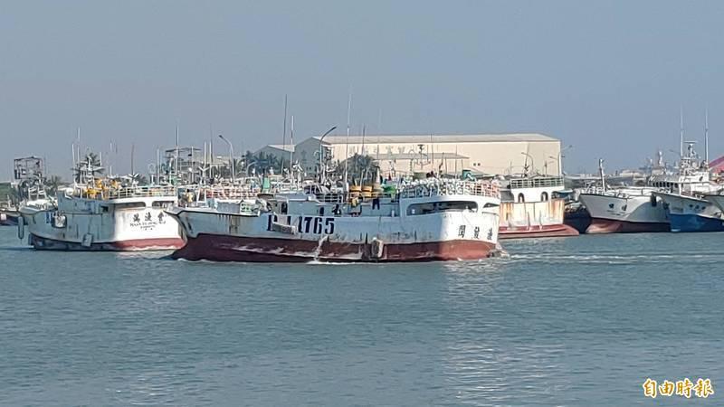 閩發漁號返回東港鹽埔漁港,https://poxet.avseo.net並前往檢疫區。(資料照)