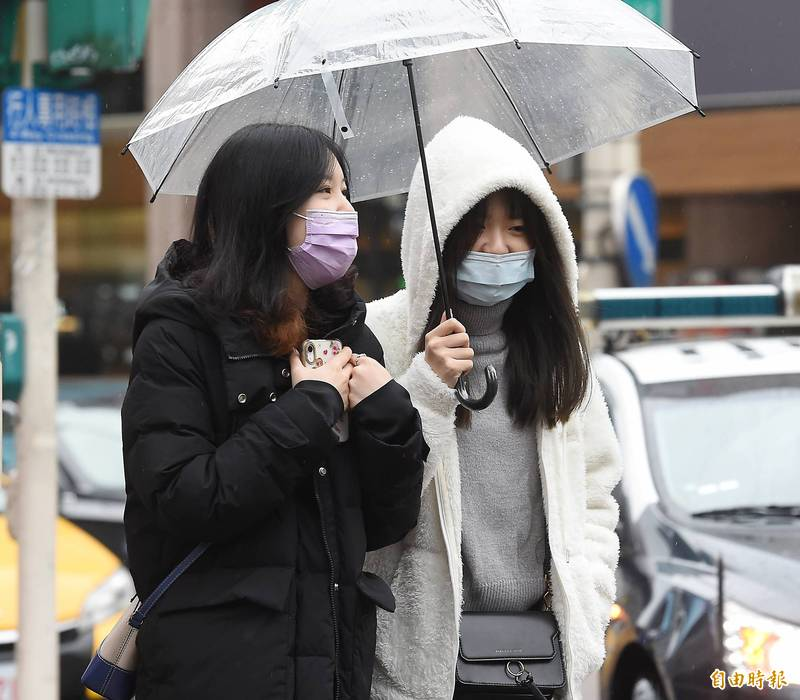 5縣市大雨特報、18縣市低溫特報 專家:入夜後10度以下低溫