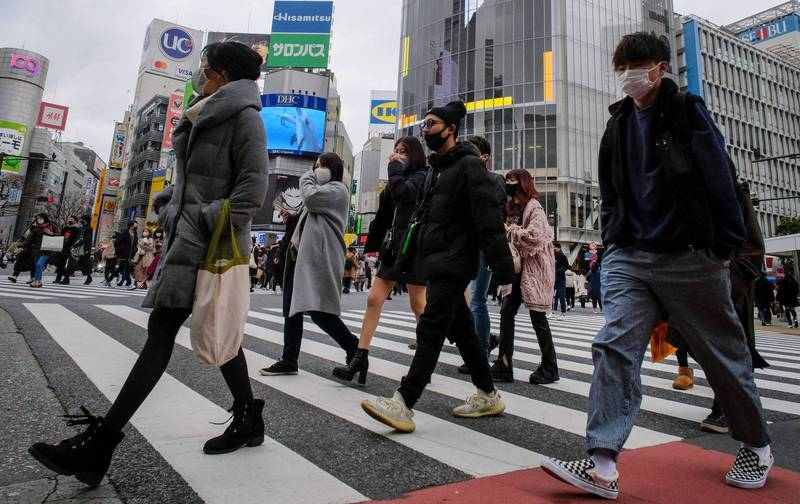 武漢肺炎》日本今新增5751例 緊急事態宣言擋不住週末人潮