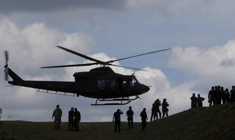 菲律賓軍用直升機山區墜毀 上校等7人全員陣亡