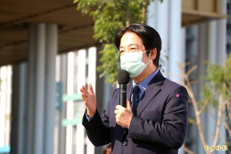 醫生出身的賴清德信心喊話說,大台灣的醫療水準,醫院有能力去解決院內感染的問題。(資料照)