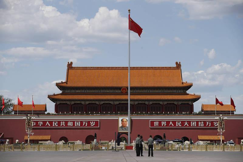 中國1名市委書記掌摑市府秘書長,導致對方心臟病方。(美聯社檔案照)