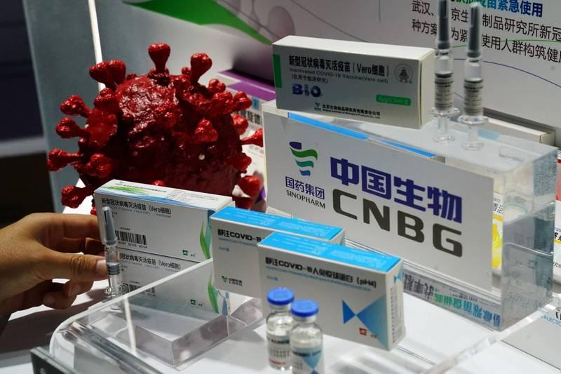 中國官媒自認中製疫苗廣受世界歡迎。(路透)