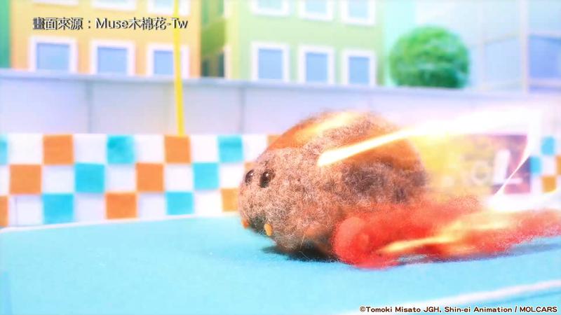 2021年1月最新一季的日本電視動畫,《天竺鼠車車》以療癒的畫面和爆笑的劇情引起高人氣。(畫面來源:Muse木棉花-Tw)