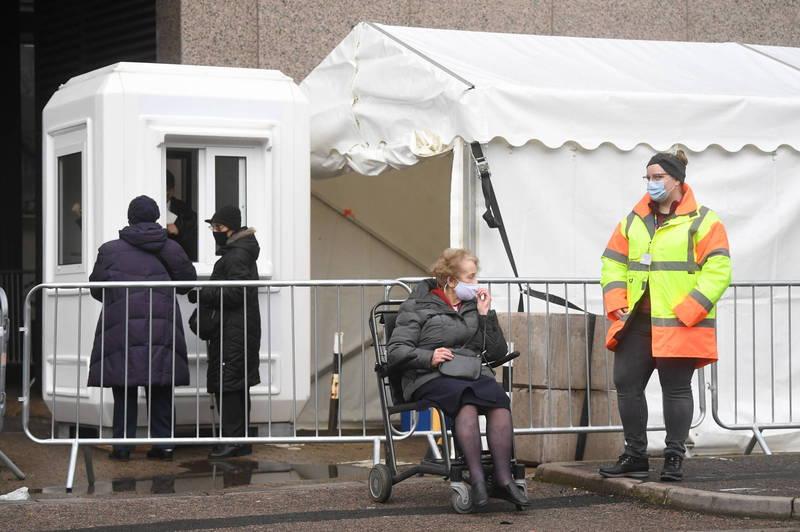 世界衛生組織(WHO)表示,目前至少有60個國家發現英國變種病毒。(歐新社)