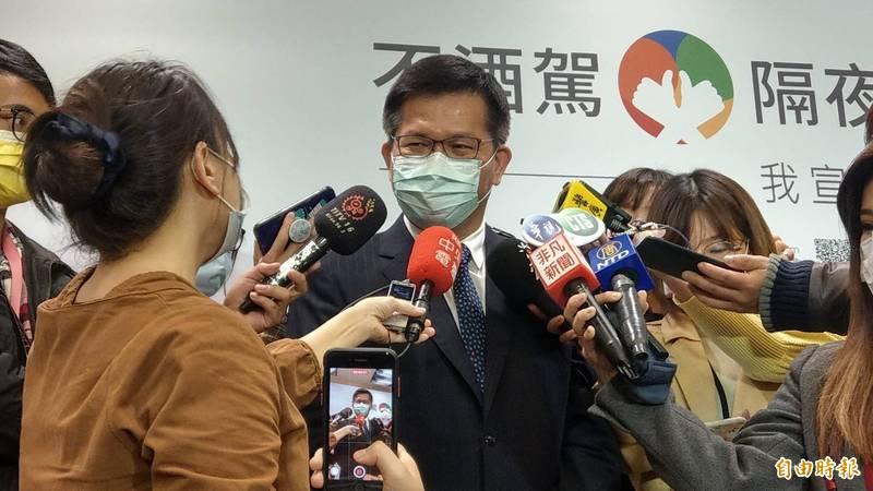 台灣燈會將首度停辦,交通部長林佳龍表示,未來會提供展出機會,讓花燈相關作品能呈現在國人面前。(記者鄭瑋奇攝)