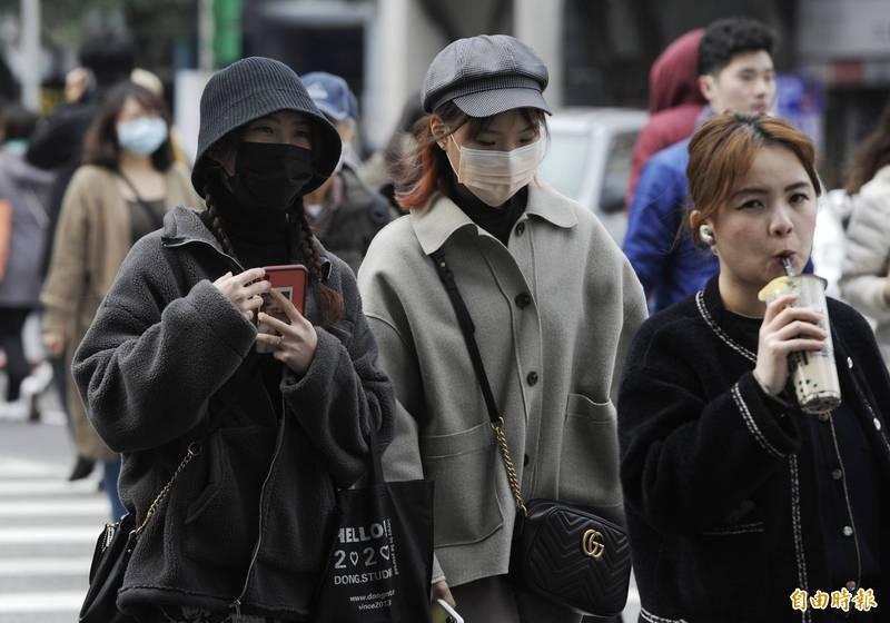 中央氣象局指出,今天(20日)受到輻射冷卻影響,清晨氣溫偏低。(資料照)