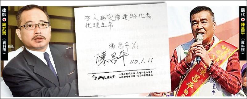 新竹檢方查出2名律師在看守所接見陳昌平時傳遞紙條。 (記者蔡彰盛翻攝)