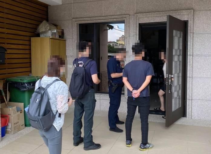 台中市觀光旅遊局加強稽查非法日租套房。(觀旅局提供)