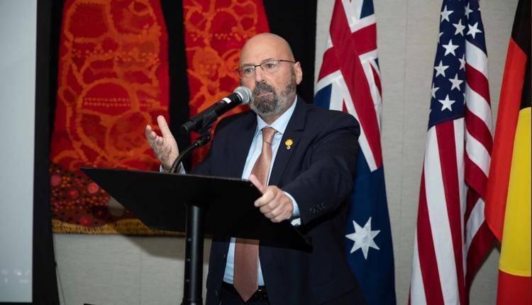 澳洲駐美大使斯諾蒂諾斯。(翻攝自推特)