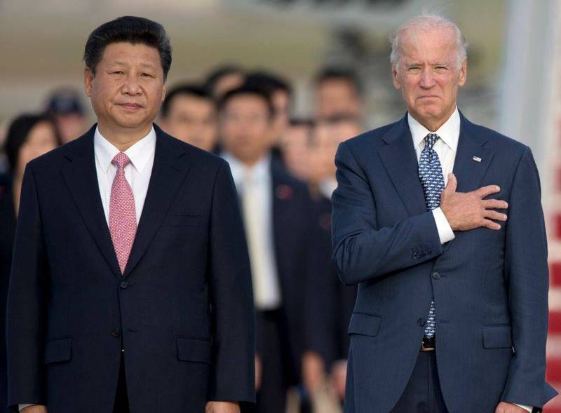 有專家指出,新的美國政府是否對中保持強硬路線完全取決於中國領導人習近平,「以目前中國的行為,無論誰是美國總統都會採取強硬措施」。(美聯社)