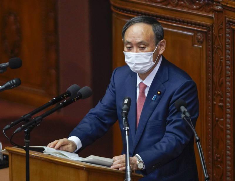本首相菅義偉向新任美國總統拜登表達由衷的祝賀,強調願與之緊密合作,盼「進一步鞏固日美同盟」。(歐新社)