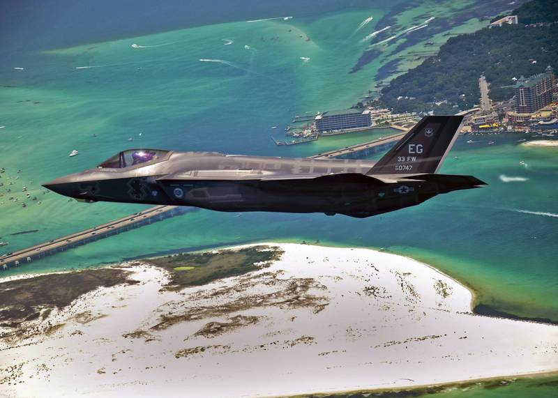 傳美國已和阿聯達成軍售協議,將向阿聯出售50架F-35戰機與18架MQ-9B無人機。(歐新社)