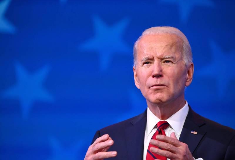 美國疫情嚴峻,新任總統拜登上任後的防疫政策備受關注。(法新社)