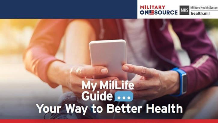 美國國防部發推出《我的軍事生活指南》簡訊系統,提供各製化的健康數據及保健資訊給軍人和軍眷。(圖擷自美國國防部官網)